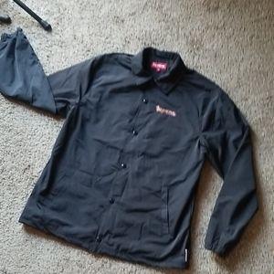 NEW💥 SUPREME jacket track windbreaker black NWOT